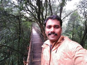 #SelfieWithAView #TripotoCommunity Bamboo Bridge: Path to explore nature closely!