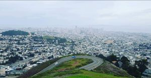 Amazing view of San Francisco