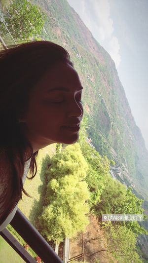 Beauty of Lavasa. Feeling the nature.  #SelfieWithAView #TripotoCommunity