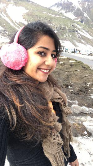Snow makes me Happy :) #SelfieWithAView #TripotoCommuntiy #Snow