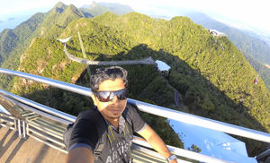A jewel amidst nature #SelfieWithAView #TripotoCommunity
