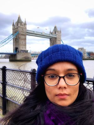 A day in London❤️ #selfiewithaview #tripotocommunity