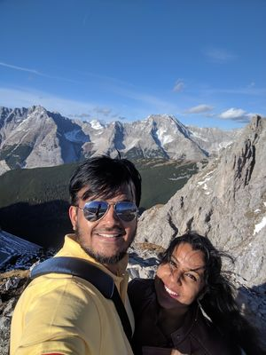 With the hardest climb comes the greatest view! #SelfieWithAView #TripotoCommunity