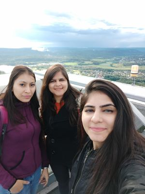 The climb may be tough,but the view from the top is always better #SelfieWithAView #TripotoCommunity