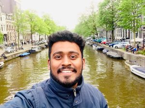 Canals and Amsterdam ❤️  #SelfieWithAView #TripotoCommunity