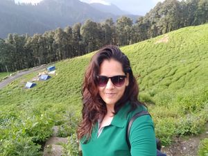 First trek of my life #nature#adventure#peace #SelfieWithAView #TripotoCommunity