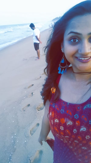 All footsteps towards the beach and you... <3 #Selfiewithaview #Tripotocommunity