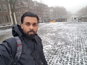 Winter in Amsterdam #SelfieWithAView #TripotoCommunity