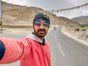 #Ladakh #highways #SelfieWithAView  #TripotoCommunity #roadtrip #lehladakh #expedition #travel #ind
