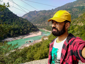 #rishikesh #Expendition #SelfieWithAView #TripotoCommunity #river #water #travelindia #solotravel
