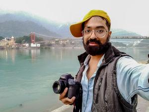 #SelfieWithAView #TripotoCommunity #Rishikesh #travelindia #laxmanjhula #Uttarakhand #travel #india