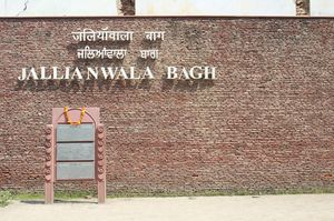 When I visited The Jallianwala Bagh