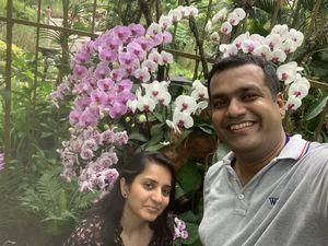 #SelfieWithAView #TripotoCommunity Botanic Garden Singapore