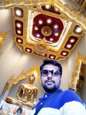Golden Buddha Temple in Bangkok  #SelfieWithAView #TripotoCommunity