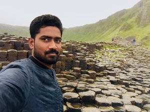More than just a pile of stones, Giant's Causeway! #SelfieWithAView #TripotoCommunity