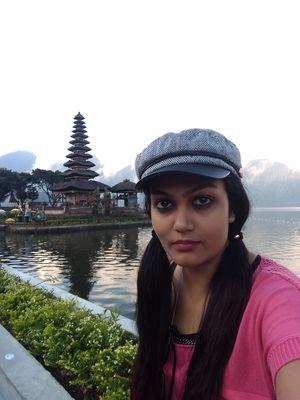 Ulun Danu Bratan Temple in North Bali  #SelfieWithAView #TripotoCommunity