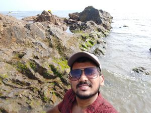 Find yourself in tune with waves. #SelfieWithAView #TripotoCommunity