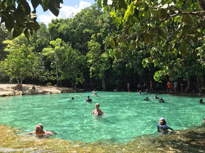 Emerald Pool, Krabi, Thailand! A must visit!!
