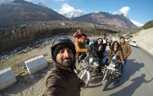 Strangers that became family over night! Glad I took solo trip #SelfieWithAView #TripotoCommunity