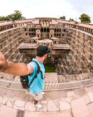 Exploring chand baori in Jaipur???? #SelfieWithAView #TripotoCommunity