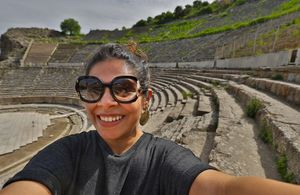Roman Architecture in Turkey #SelfieWithAView #TripotoCommunity