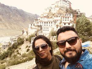 Ki monastery one of my favourite place. #spiti #SelfieWithAView #Tripotocommunity
