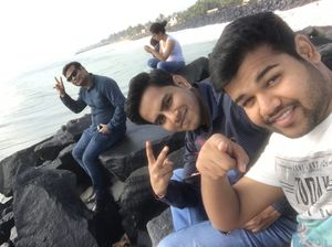 Some photos are the return ticket to the moments.... #TripotoCommunity #SelfieWithAView #friends