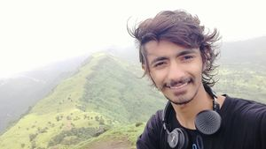 The Best View Comes after the Hardest Climb.... #TripotoCommunity #SelfieWithAView