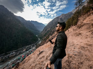 View from top in Kasol  #selfiewithaview #tripotocomunnity