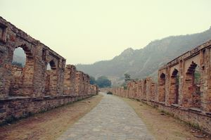 The Historic Ruins of Bhangarh