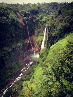 Thoseghar waterfalls, Satara