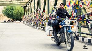 My first bike tour of leh Ladakh, love to stay in peace for a long