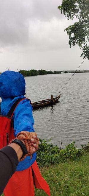 Her day in kadamakudy , Kochi , kerala ! It was splendid
