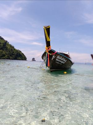 Krabi four island tour in long tailed boat..