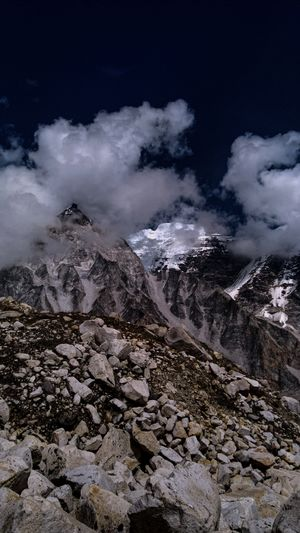 Gangotri It is on the greater himalayan range at a height of (3415)meters (11,204)ft