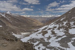 Nature Landscapes of Nubra Valley from my North India Bike Trip