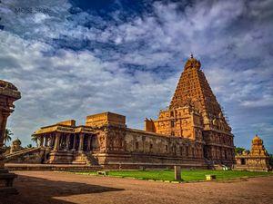 Peruvudaiyar Temple, Thanjavur.  Thanjai Periya koil.
