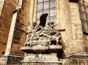 Prague Castle in Prague.