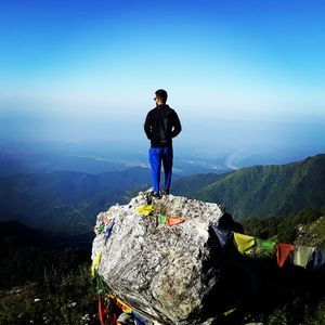 George Everest, the highest view point of mussorie dehradun range...here also are a short trek..