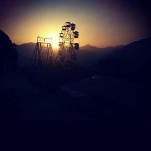 A beautiful evening of Chamba fair