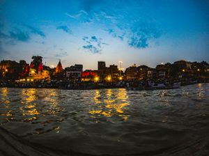 Ganga arti in Kashi , shot with gopro session