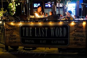 """Dine Out at """"""""The Last World"""""""""""
