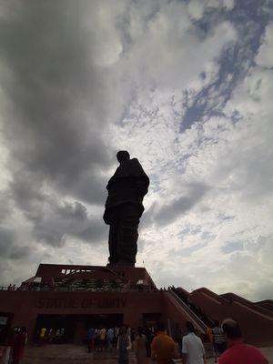 Unity statue