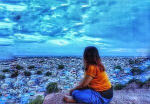 Jodhpur, beyond the blue hues