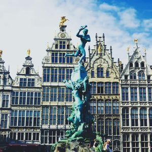 Antwerp : the old city,the port city of belgium.
