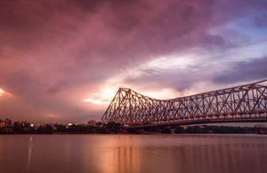 The Iconic Howrah Bridge