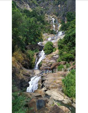 Ravana falls in Ella, Srilanka