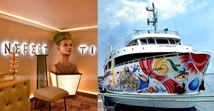 Nefertiti: - The Gorgeous and Luxurious Vessel Queen of Kerala is all set to sail in Arabian Sea