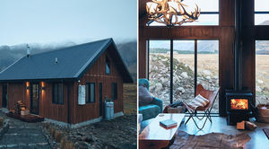 High Country Cabin : A Rustic Country Styled Airbnb for a Secluded Romantic Getaway in New Zealand..