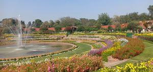 Close 2 nature , enjoy natural beauty of Mughal garden